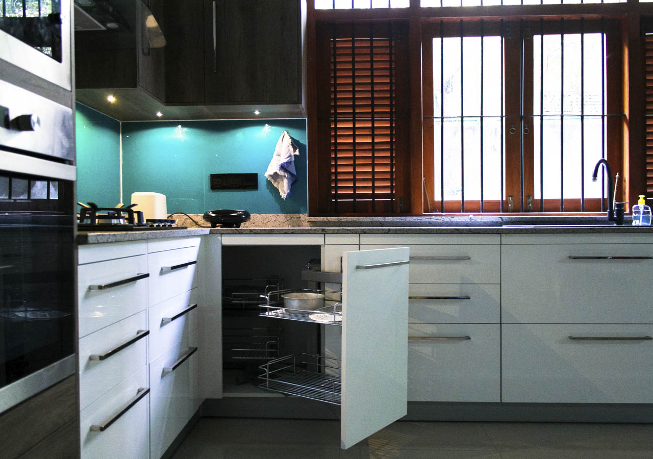 Pantry Cupboards Sri Lanka - Hybrid Kitchen Portfolio